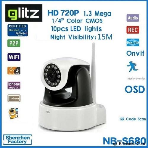 VALUESTORE GLITZ IP Camera Wireless with SD Card - Ip Camera
