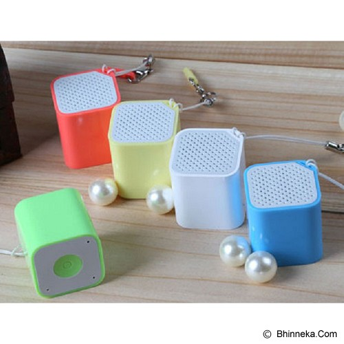 VALUESTORE Smartbox Mini Speaker Built in Selftimer and Antilost Function - Yellow - Speaker Bluetooth & Wireless