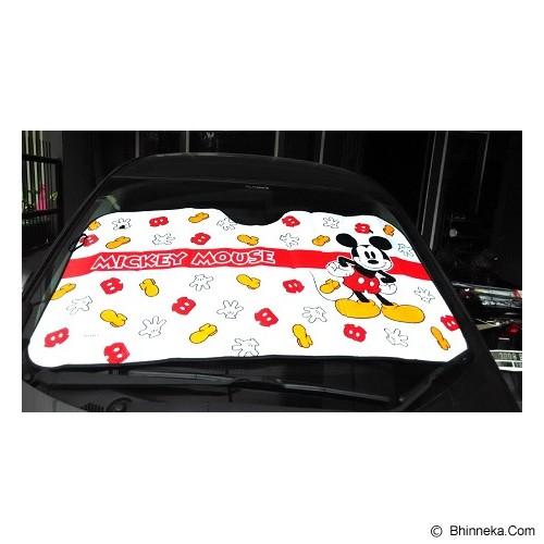 VARIASI UNIK Penutup Kaca Mobil Depan Mickey Mouse - Organizer Mobil