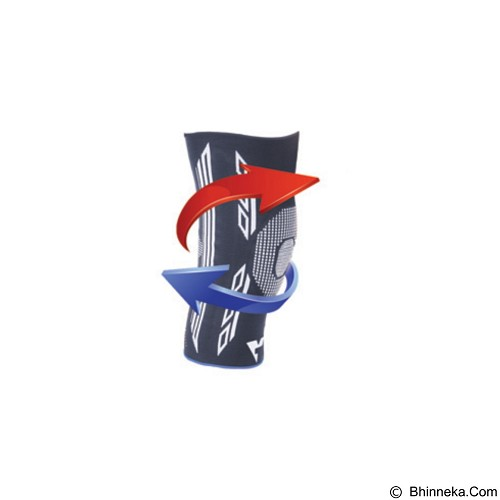 VARITEKS Knitted Flexible Knee Support Size XL [VAR453.XL] (Merchant) - Penyangga dan Alat Bantu Kaki