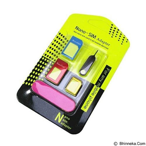 VERA DES 3 in 1 Nano SIM Adapter (Merchant) - Sim Card Cutter & Adapter