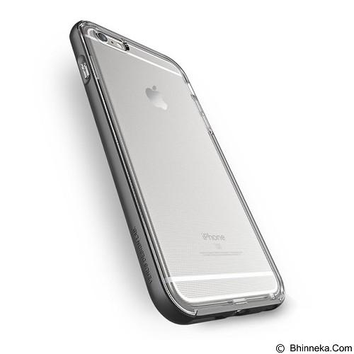 VERUS Case Crystal Bumper for Apple iPhone 6 Plus/6s Plus - Steel Silver - Casing Handphone / Case