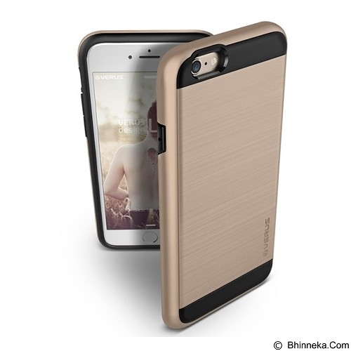 VERUS Case Verge for Apple iPhone 6 / 6s - Shine Gold - Casing Handphone / Case