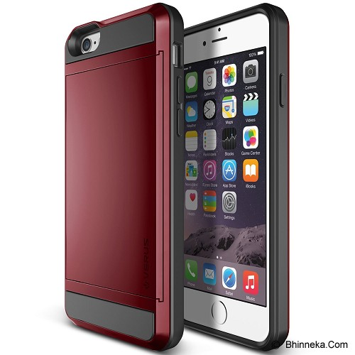 VERUS Damda Slide Apple iPhone 6 - Red - Casing Handphone / Case