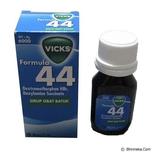 VICKS Formula 44 Dewasa 27ml - Obat Flu dan Batuk