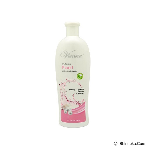 VIENNA Milky Body Wash Pearl 750 ml (Merchant) - Sabun Mandi