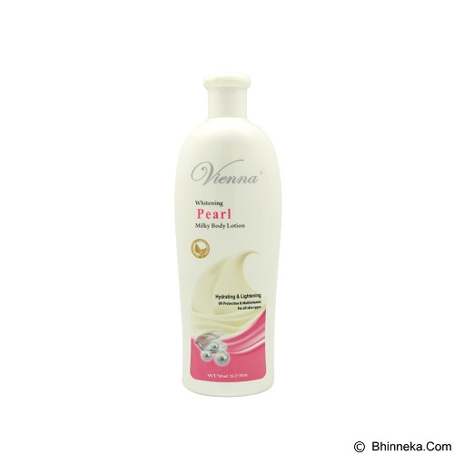 VIENNA Pearl Body Lotion 750 ml (Merchant) - Body Lotion / Butter