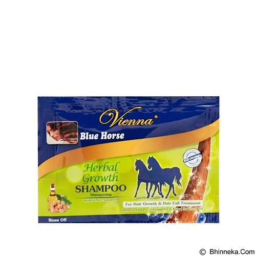 VIENNA Shampoo Blue Horse Herbal Growth 10ml sachet (Merchant) - Shampoo