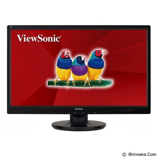 VIEWSONIC LED Monitor 21.5 Inch [VA2246] - Monitor Led Above 20 Inch