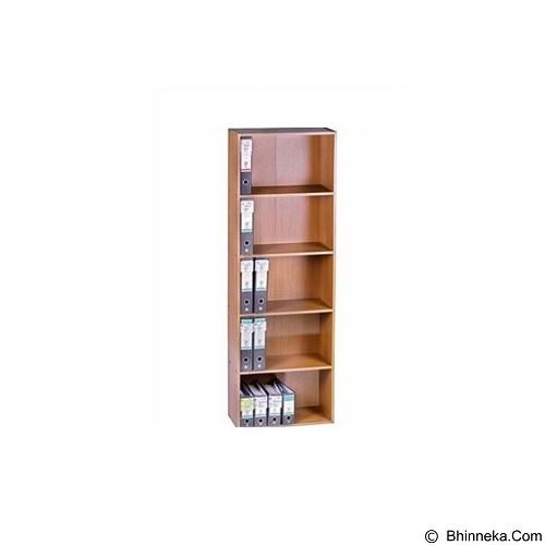 VIP Lemari Arsip Kayu Tinggi Pintu Kaca [BC 03] (Merchant) - Filing Cabinet / Lemari Arsip