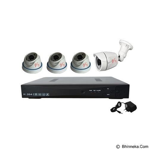 VISION PRO Paket Hemat CCTV AHD Home 720 [IO31] - Cctv Camera