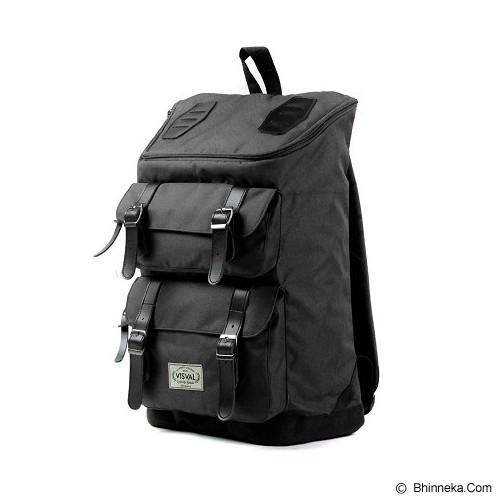 VISVAL Majestic - Black - Backpack Pria