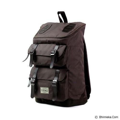 VISVAL Majestic - Brown - Backpack Pria