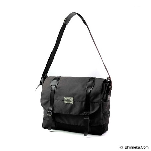 VISVAL Massive - Black - Cross-body Bag Wanita