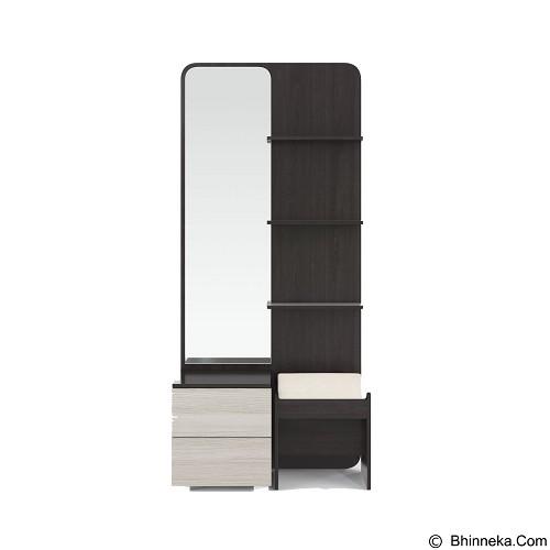 VITTORIO Lexus Dresser 80 [PRD/0000005043] - Chocolate - Meja Rias