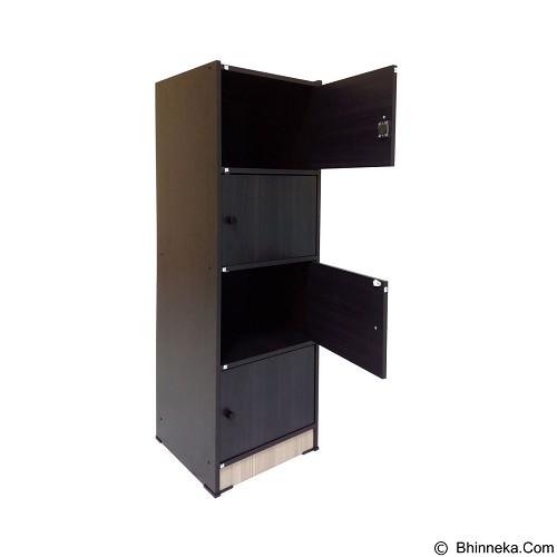 VITTORIO RSG4P [PRD/0000005093] - Chocolate - Filing Cabinet / Lemari Arsip