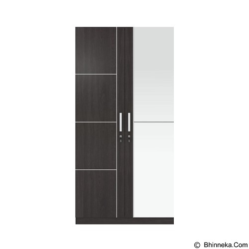 VITTORIO Wardrobe 2 Door 101 Lexus [PRD/0000005032] - Drawer