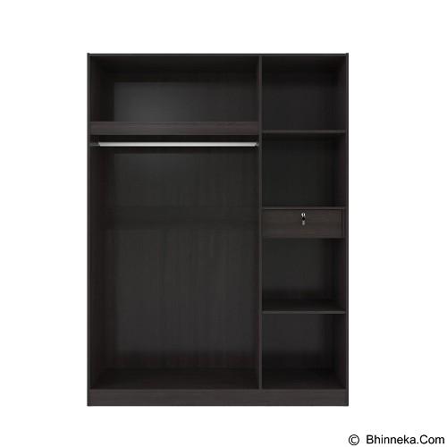 VITTORIO Wardrobe 3 Door 152 Lexus [PRD/0000005038] - Lemari Pakaian