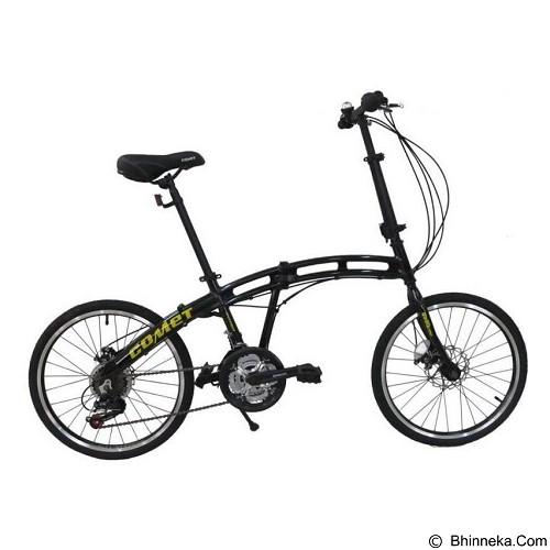VIVACYCLE Comet 20 - Black (Merchant) - Sepeda Lipat / Folding Bike