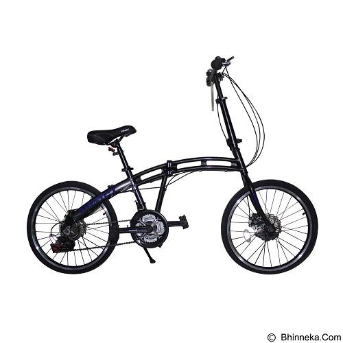 VIVACYCLE Comet 20 - Grey (Merchant) - Sepeda Lipat / Folding Bike
