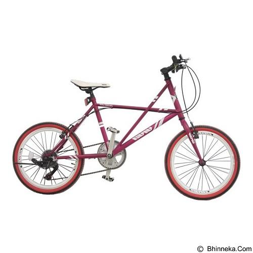 VIVACYCLE Mini Racing Zero 23 - Purple (Merchant) - Sepeda Kota / City Bike