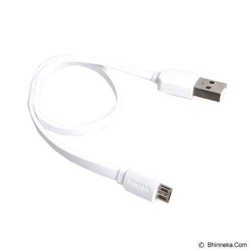 VIVAN Micro Flat Wire [CM30] - White (Merchant) - Cable / Connector Usb