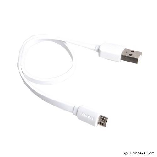 VIVAN Micro Flat Wire [CM30] - White (Merchant) - Cable / Connector Usb