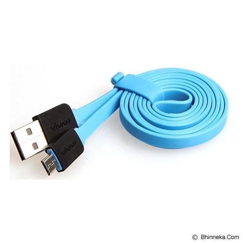 VIVAN Micro USB Cable [YM100] - Blue (Merchant) - Cable / Connector Usb