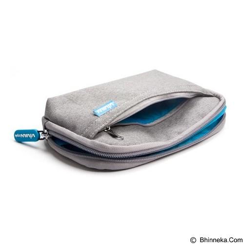 VIVAN Portable Soft Case for Digital Gadgets [VBG-S01] - Gray (Merchant) - Sarung Gps / Pouch