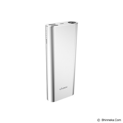 VIVAN Power Bank 17000mAh [M17] - Silver - Portable Charger / Power Bank