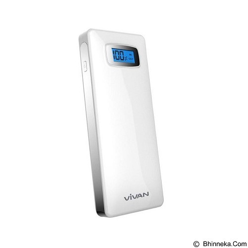 VIVAN Power Bank 22400mAh [IPS20S] - White - Portable Charger / Power Bank