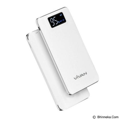 VIVAN Powerbank 11000 mAh [D11] - White - Portable Charger / Power Bank