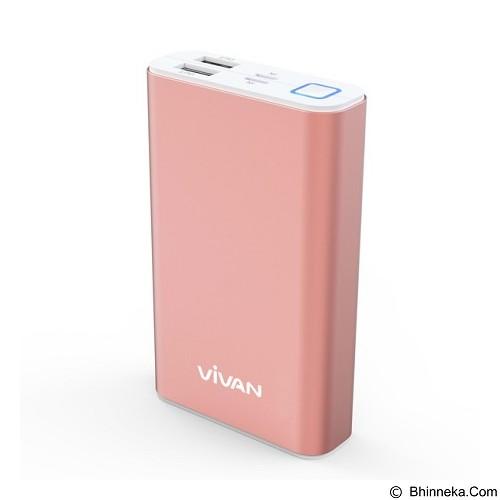 VIVAN Powerbank 10200mAh [M10] - Rose Gold (Merchant) - Portable Charger / Power Bank