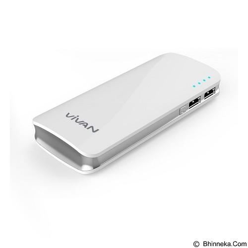 VIVAN Powerbank 11000mAh [M-11] - White - Portable Charger / Power Bank