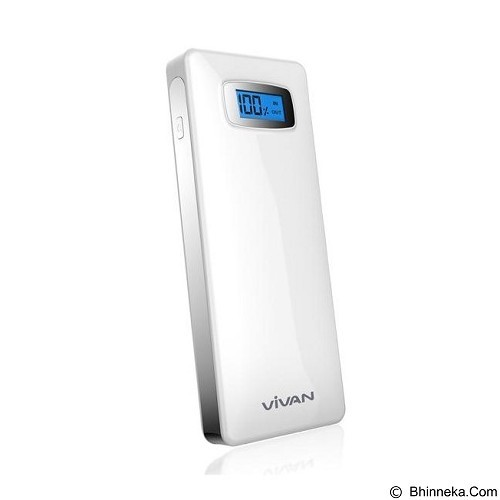 VIVAN Powerbank 22400mAh [IPS-20S] - White - Portable Charger / Power Bank