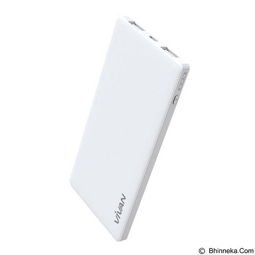 VIVAN Powerbank 5000mAh [C5] - White - Portable Charger / Power Bank