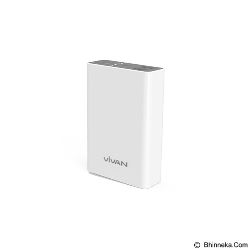 VIVAN Powerbank 8000 mAh [M8] - White - Portable Charger / Power Bank