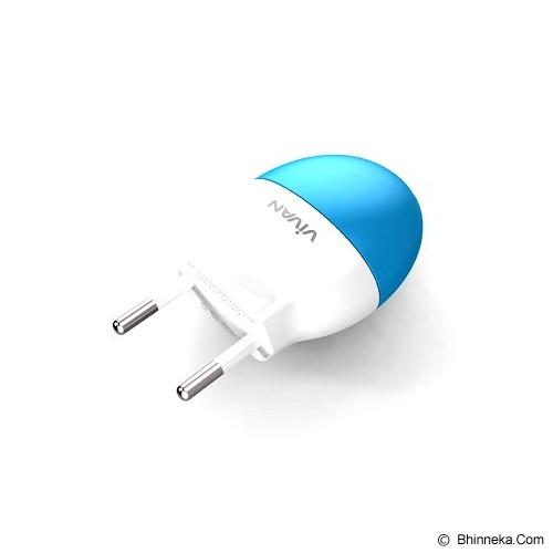 VIVAN Powercube - Blue/White (Merchant) - Charger Handphone