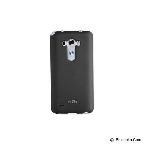 VOIA Jellskin For LG G3 - Black - Casing Handphone / Case