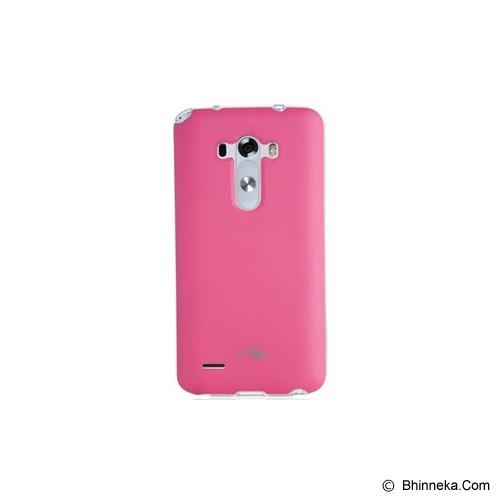 VOIA Jellskin For LG G3 - Pink - Casing Handphone / Case