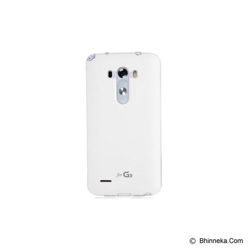 VOIA Jellskin For LG G3 - White - Casing Handphone / Case