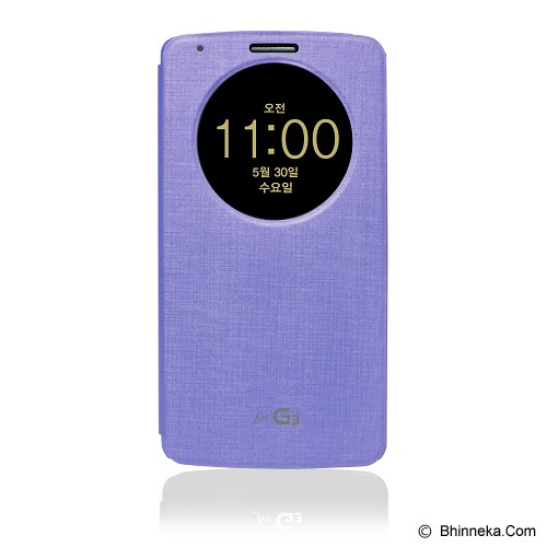 VOIA Quick Circle Case For LG G3 - Violet - Casing Handphone / Case