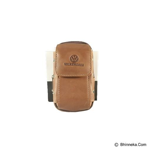 VOLKSWAGEN Pouch [FTP SH-41] - Light Brown - Sarung Handphone / Pouch