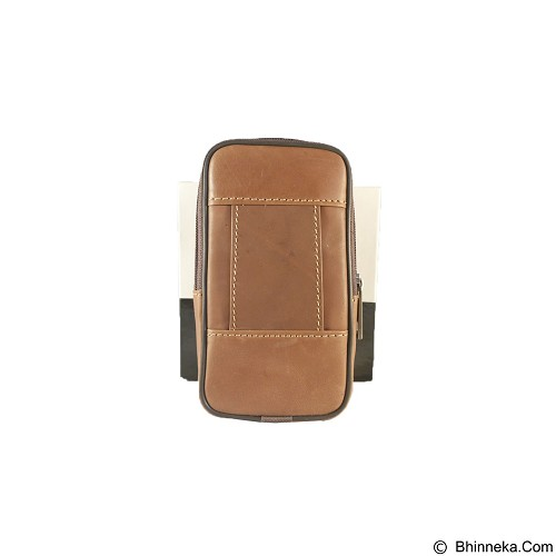 VOLKSWAGEN Pouch [FTP SH-41] - Light Brown - Sarung Handphone / Pouch
