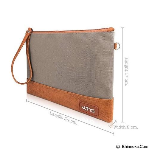 VONA Denali Clutch - Grey (Merchant) - Clutches & Wristlets Wanita