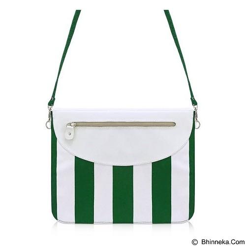 VONA Inuka Clutch - Green White (Merchant) - Clutches & Wristlets Wanita