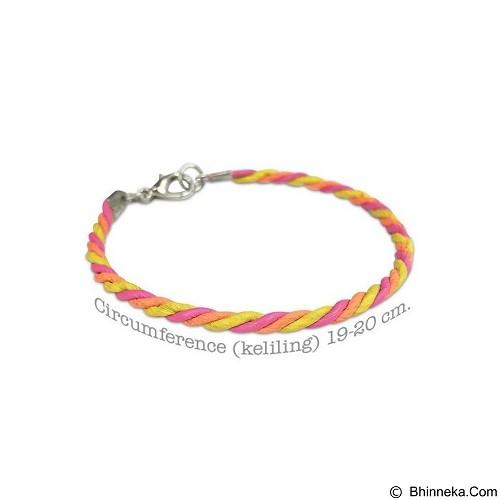 VONA Willow Gelang Kulit - Pink Yellow (Merchant) - Gelang / Bracelet