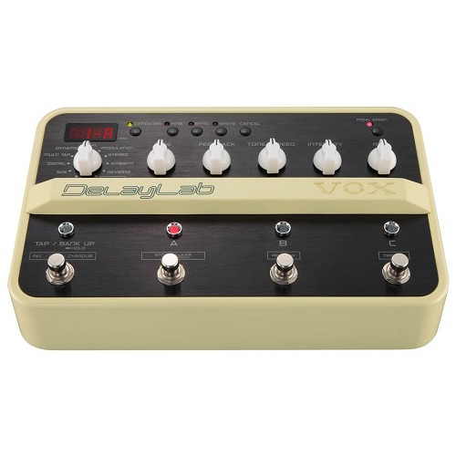 VOX Delay Lab Guitar Stompbox Effect - Gitar Stompbox Effect