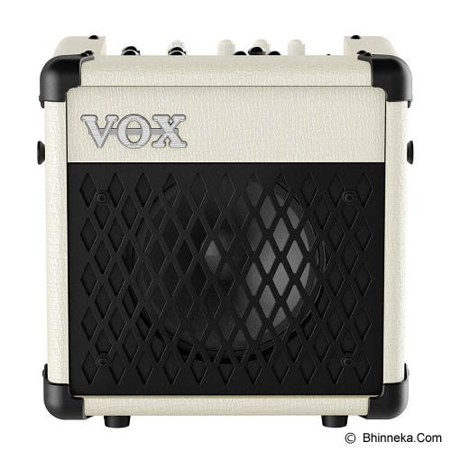VOX Guitar Amplifier Mini 5 Rhythm [MINI5 RMIV] - Ivory - Gitar Amplifier