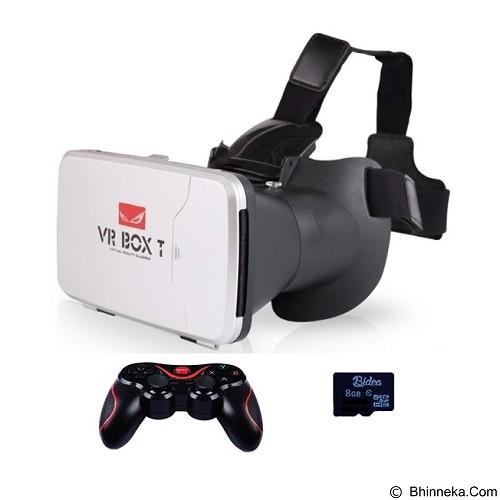 VR BOX 2nd Generation Cardboard Virtual Reality [PVBTM1T] (Merchant) - Gadget Activity Device